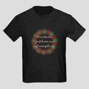 Leave one Kids Dark T-Shirt