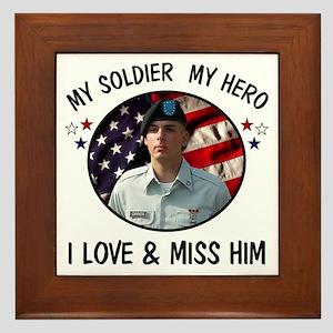 For Darlene Custom Military Framed Tile