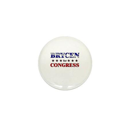 BRYCEN for congress Mini Button