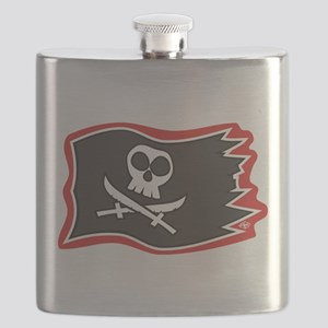 Jolly Roger Flag Flask