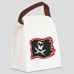 Jolly Roger Flag Canvas Lunch Bag