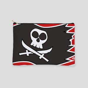 Jolly Roger Flag Makeup Bag