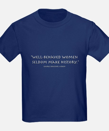"""Well-behaved women"" T"