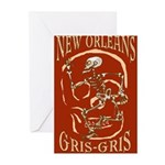 New Orleans Grsi Gris Greeting Cards (Pk of 10)