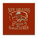 New Orleans Grsi Gris Tile Coaster