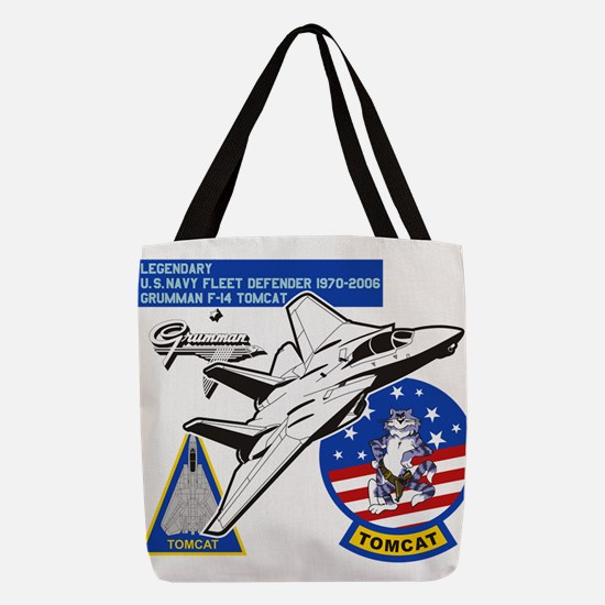 Tomcat Polyester Tote Bag