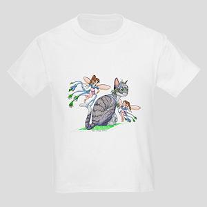 Dress Up Cat Kids Light T-Shirt