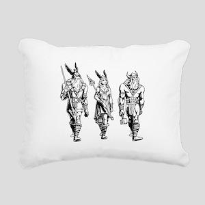Odin Freyja & Thor Rectangular Canvas Pillow