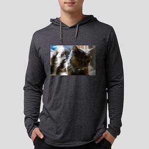Dozing Grey Long Sleeve T-Shirt