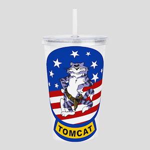 Tomcat Acrylic Double-wall Tumbler