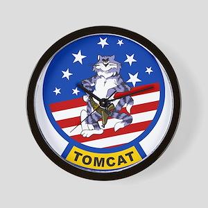 Tomcat Wall Clock