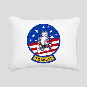 Tomcat Rectangular Canvas Pillow