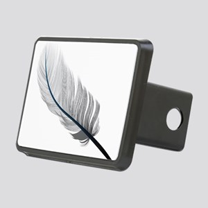 Gray Quill Rectangular Hitch Cover