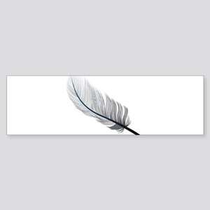 Gray Quill Bumper Sticker