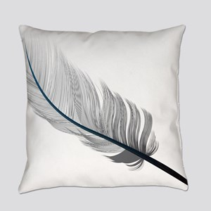 Gray Quill Everyday Pillow