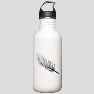 Gray Quill Sports Water Bottle