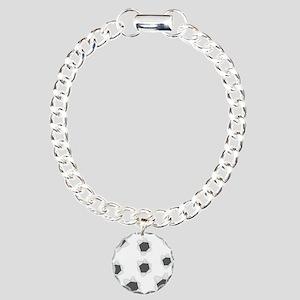Holes Bullet Charm Bracelet, One Charm
