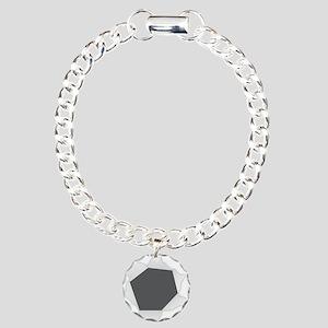 Big Hole Charm Bracelet, One Charm