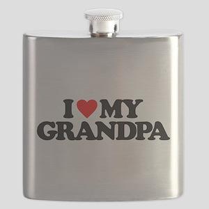 I LOVE MY GRANDPA Flask