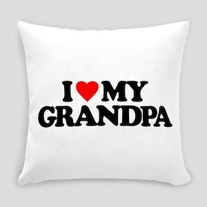 I LOVE MY GRANDPA Everyday Pillow
