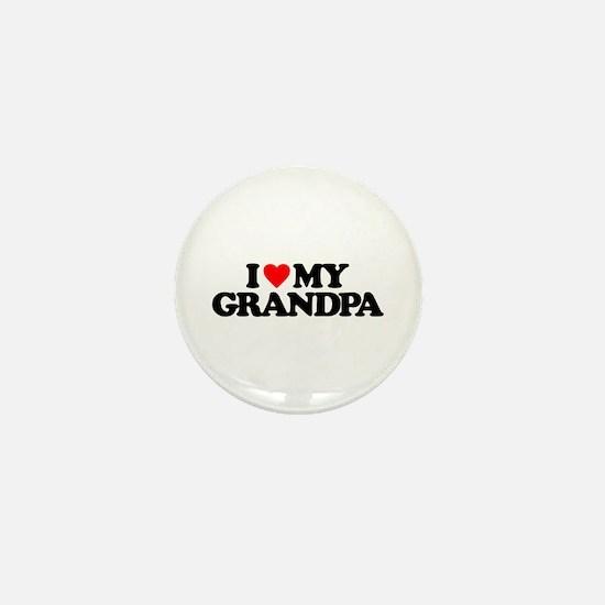 I LOVE MY GRANDPA Mini Button