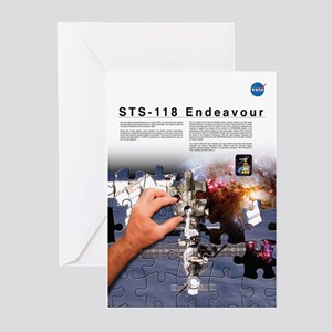 STS 118 Mission Poster Greeting Cards (Pk of 10)