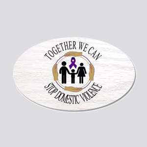 Domestic Violence Together We Can Stop Wall Decal