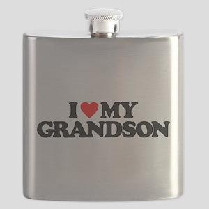 I LOVE MY GRANDSON Flask