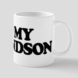 I LOVE MY GRANDSON Mug