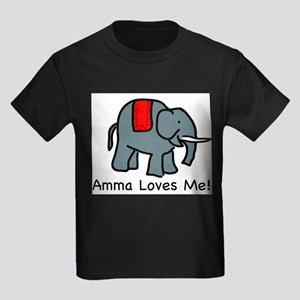 Amma Loves ME Kids T-Shirt