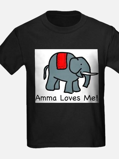 Amma Loves ME Kids T-Shirt