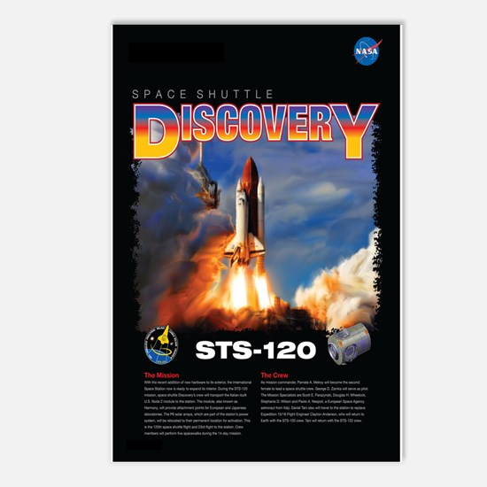 STS 120 Mission Poster Postcards (Package of 8)