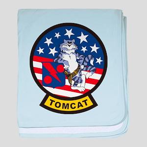 Tomcat baby blanket