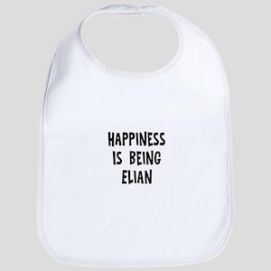 Happiness is being Elian Bib