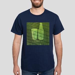 Proof of Intelligent Life Dark T-Shirt