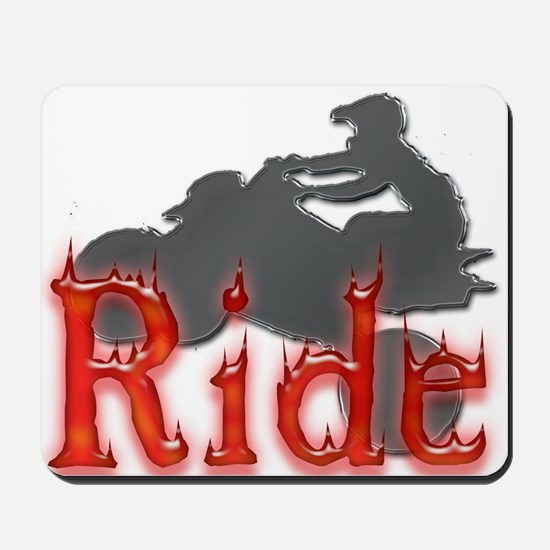Ride! Mousepad