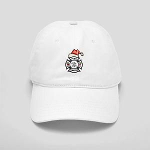 Firefighter Santa Cap