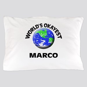 World's Okayest Marco Pillow Case