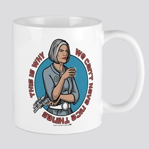 Archer Malory Nice Thing Mug