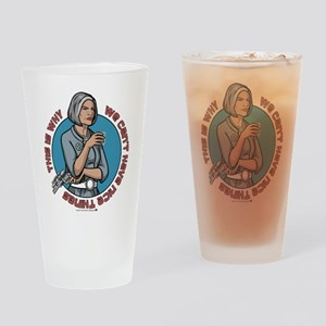 Archer Malory Nice Thing Drinking Glass
