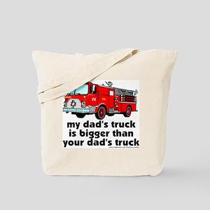 ...bigger than your dad's tru Tote Bag