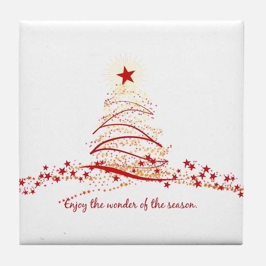 Wonder of the Season Tile Coaster