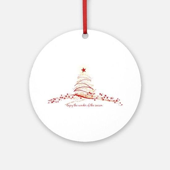 Wonder of the Season Ornament (Round)