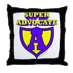 Super Advocate Throw Pillow