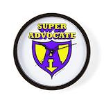 Super Advocate Wall Clock