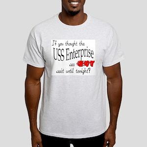 USS Enterprise was hot ver2 Light T-Shirt