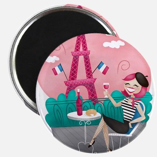 Je T'aime Paris Magnets