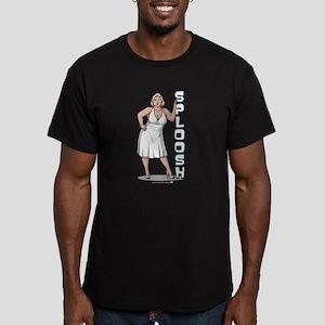 Archer Pam Sploosh Men's Fitted T-Shirt (dark)