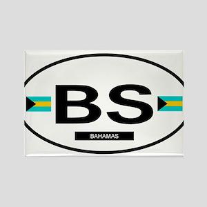 Bahamas 2F Rectangle Magnet