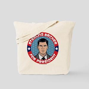 Archer Sterling Archer for President Tote Bag